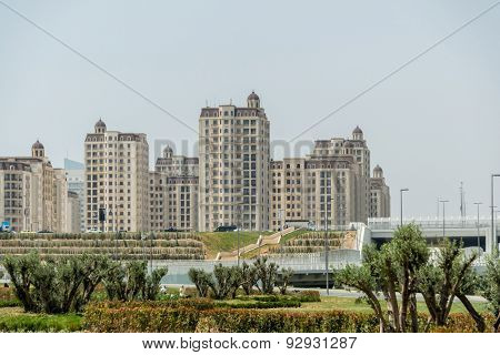 BAKU - MAY 10, 2015: Athletes Village on May 10 in BAKU, Azerbaijan. Baku Azerbaijan will host the first European Games
