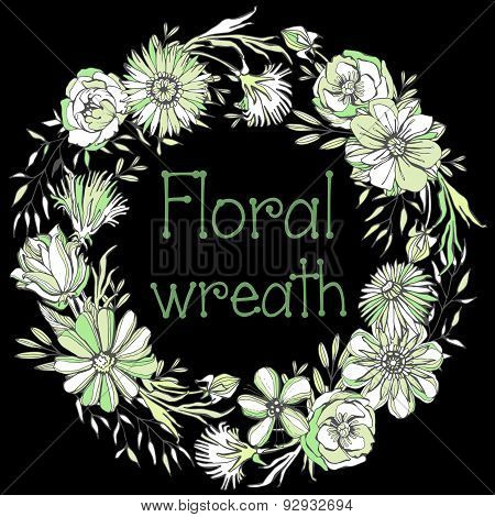 Gorgeous Floral wreath