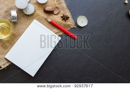 The Paper On The Blank.