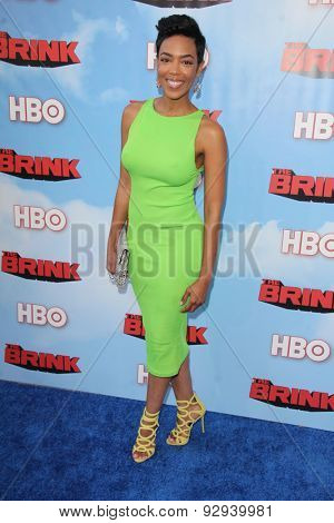 LOS ANGELES - JUN 8:  Jazmyn Simon at the HBO's