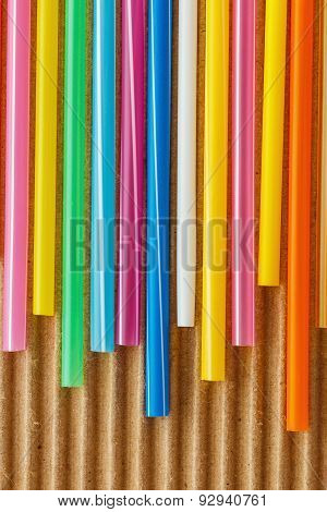 Drinking Straw  On Paper