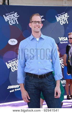 LOS ANGELES - JUN 8:  Pete Docter at the