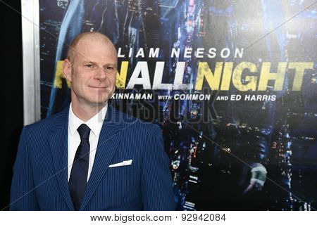 NEW YORK-MAR 9: Composer Tom Holkenborg attends the premiere of