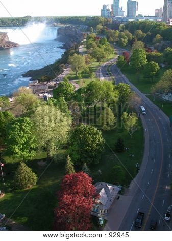Blick auf Niagara