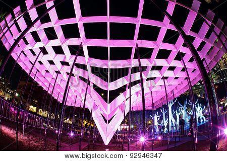 Lighting Structures At Vivid Sydney 2015