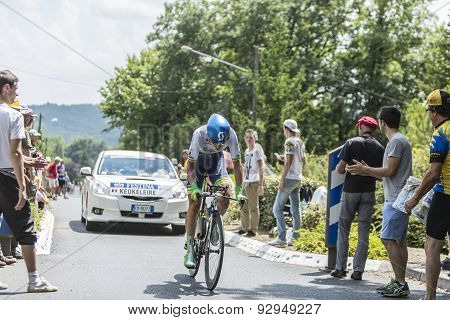 The Cyclist Jens Keukeleire - Tour De France 2014