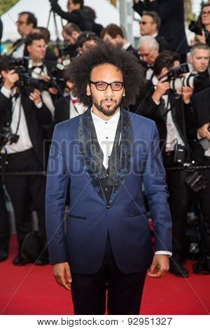 Yassine Azzouz attends the'Mad Max : Fury Road' Premiere during the 68th annual Cannes Film Festival on May 14, 2015 in Cannes, France.