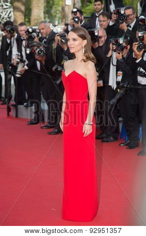 Natalie Portman attend the opening ceremony and premiere of La Tete Haute ( Standing Tall ) during the 68th annual Cannes Film Festival on May 13, 2015 in Cannes, France.