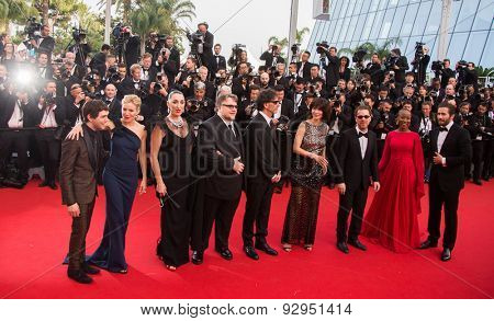 Jury. Opening Ceremony 'La Tete Haute' Premiere. 68th Annual Cannes Film Festival at Palais des Festivals on May 13, 2015 in Cannes, France.