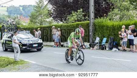 The Cyclist Peter Sagan - Tour De France 2014
