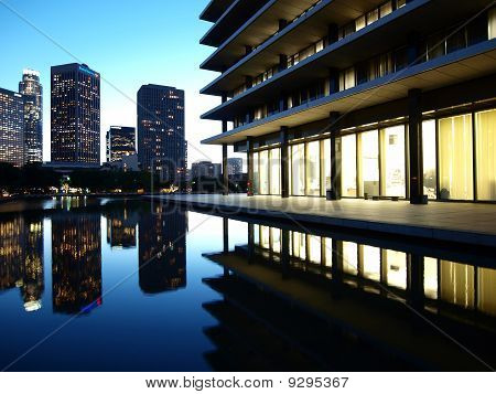 Downtown LA Reflecting Pond
