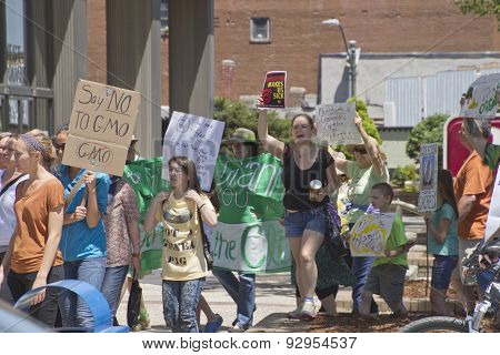 Asheville Gmo Protest March