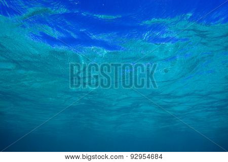 Water Surface From Underwater