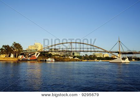 Goodwill Bridge Brisbane Australia