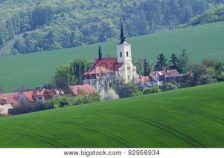 Small Czech town