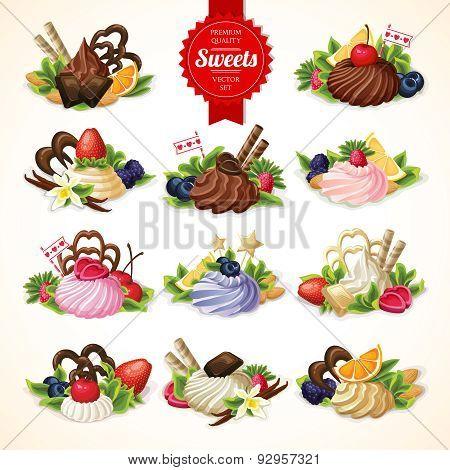 Sweets big set