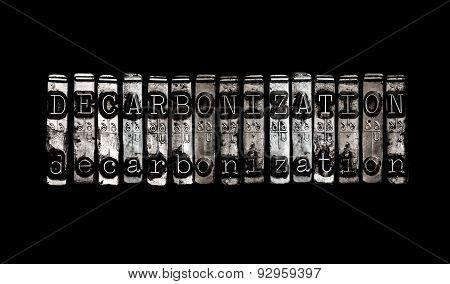 Decarbonization Concept