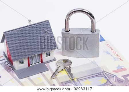 Secured house