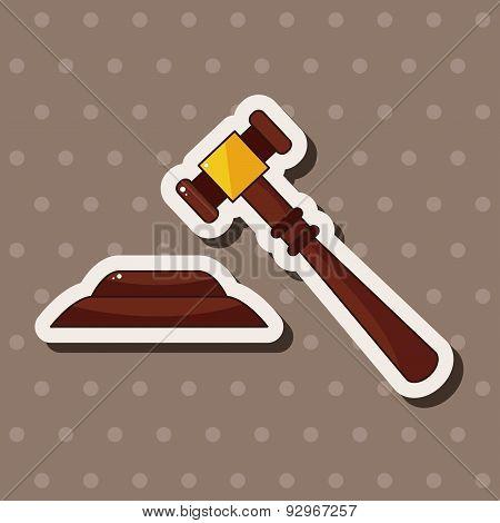 Judge Hammer Theme Elements