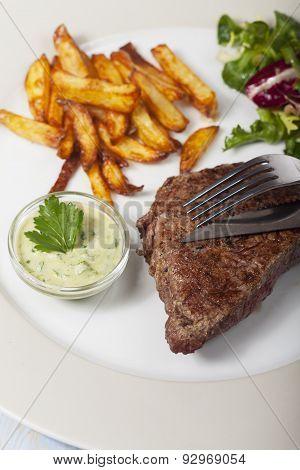 slices of beef steak