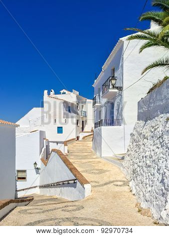 White Houses And Blue Sky Of Andalusia