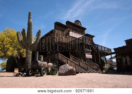 Ghosttown, Arizona, Usa