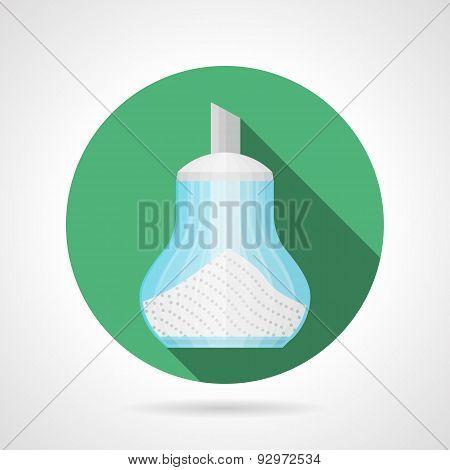 Flat color vector icon for sugar dispenser