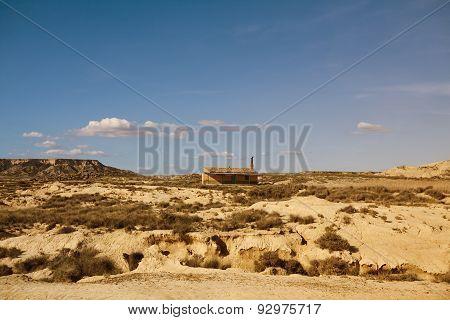 Bardenas reales desert Navarra Spain