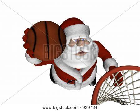 Santa Basketball 1