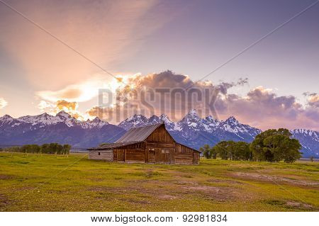 Grand Teton Mountains, Wyoming.