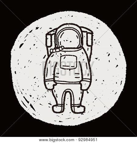 Astronaut Doodle