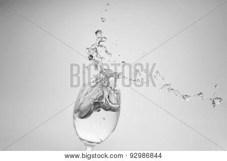 Water Splash Freeze Motion