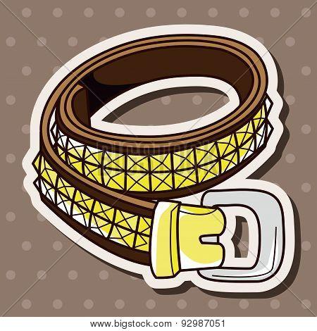 Rock Style Belt Theme Elements