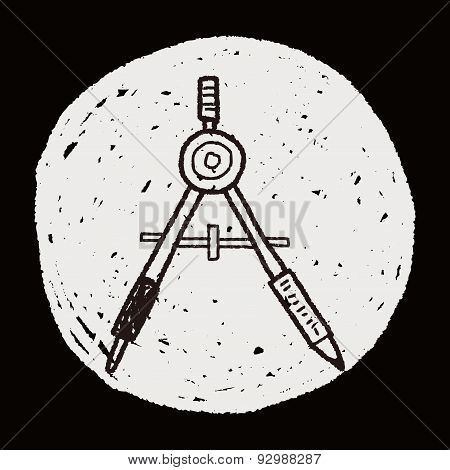 Compass Doodle