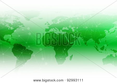 Bright abstract green background