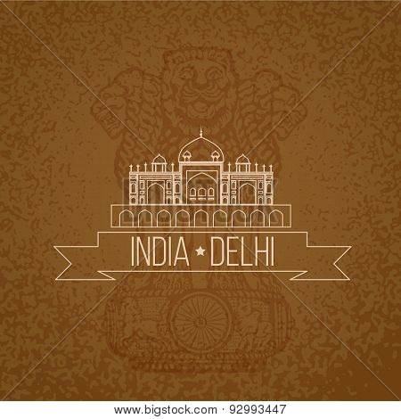 Humayuns Tomb - The Symbol Of India, Delhi.