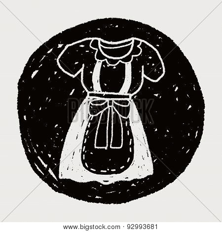 Maid Clothes Doodle
