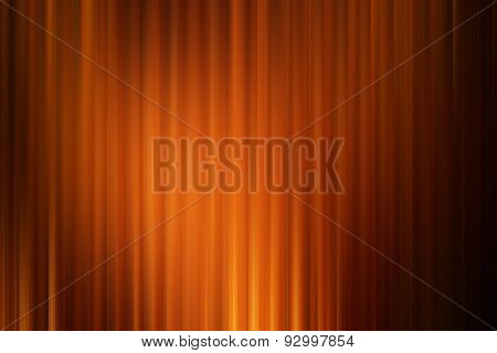 Abstract art background ,orange gold drape cinema motion style