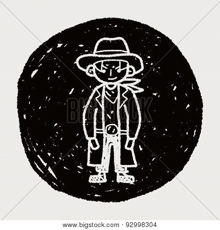 Cowboy Doodle