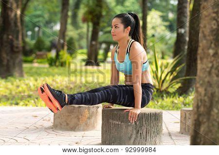 L-sit Exercise