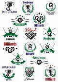 picture of snooker  - Billiards - JPG
