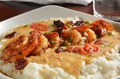 picture of creole  - Sauteed shrimp onions  - JPG