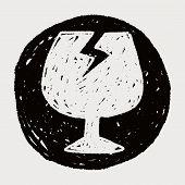 pic of fragile  - Fragile Doodle - JPG