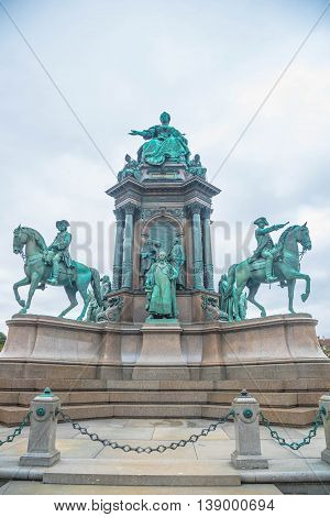 The Maria Theresa Monument - Vienna Austria