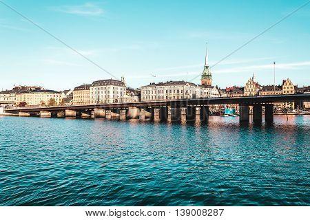Buildings And Islands Of Stockholm, Sweden