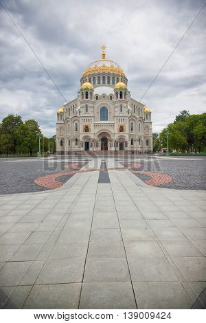 Kronstadt. Russian Federation. St. Nicholas (Sea) Cathedral.