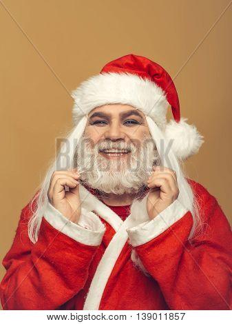 Smiling Christmas Man