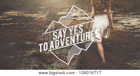 Adventure Travel Trip Leisure Outdoors Exploration Concept