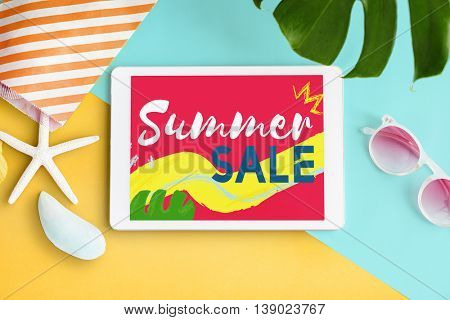 Summer Chill Collection Colorful Leisure Fresh Concept