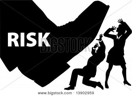 Risk Foot Step
